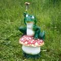 Поливалка для огорода лягушка