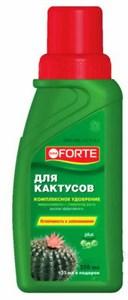 BONA FORTE удобрение для кактусов 250мл
