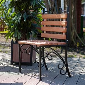 Кованый стул для дачи