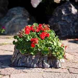 Кашпо садовое Пень